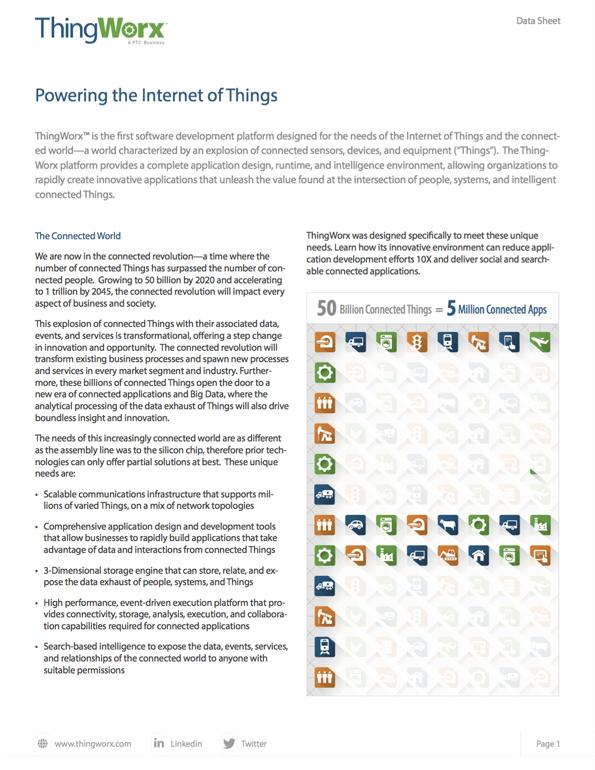 Datasheet_thingworx_iot_platform
